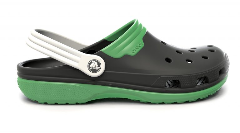 Crocs Clog black and green
