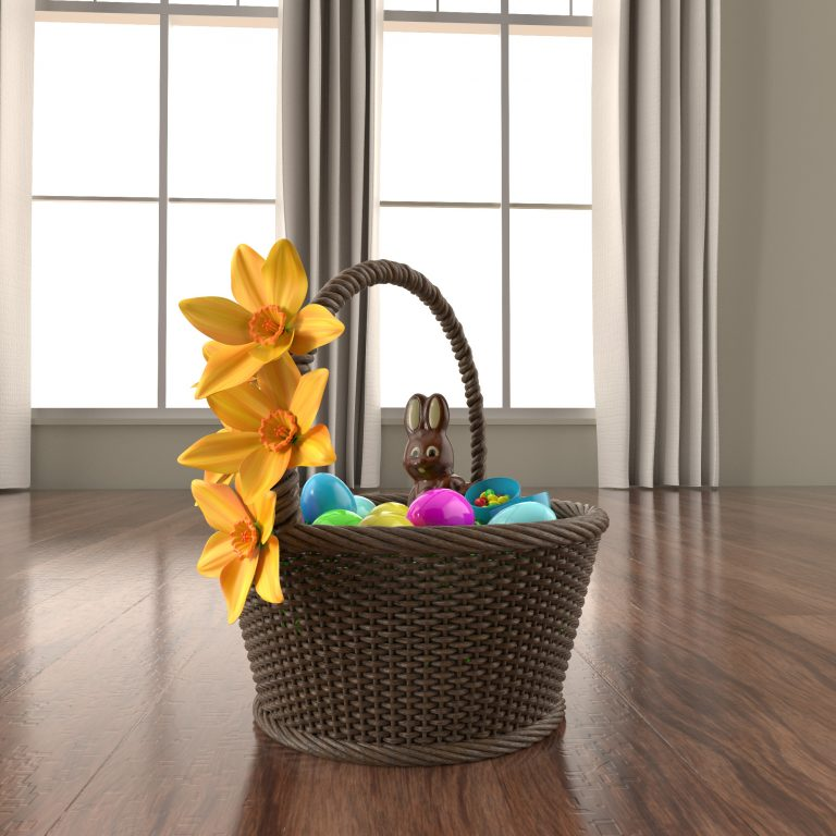 Easter Basket Render