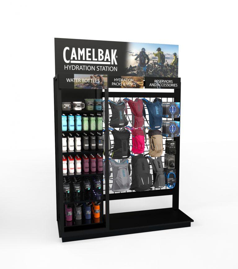 Camelbak display